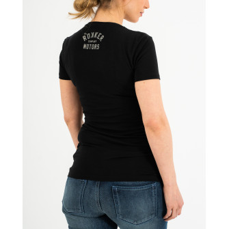 Rokker Performance Ladies T-Shirt Motors