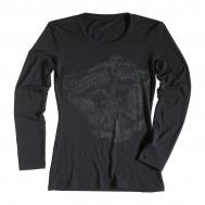 Rokker Performance Ladies Long Sleeve T-Shirt Donna's Garage