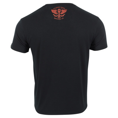 Rokker Performance T-Shirt Bakersfield Black