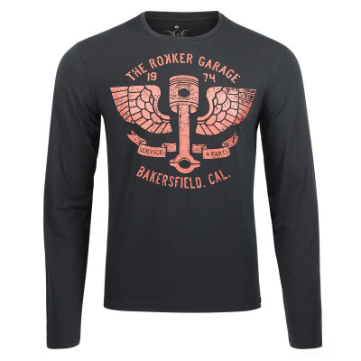 Rokker Performance L/S T-Shirt Bakersfield Black