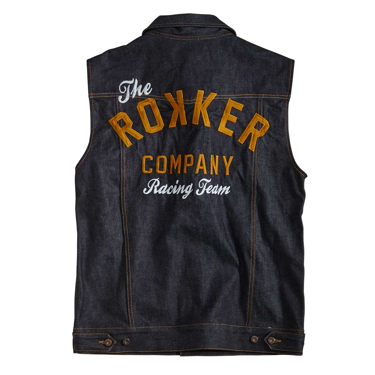 Rokker Team Denim Vest