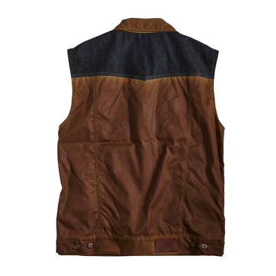 Rokker Wax Cotton Vest
